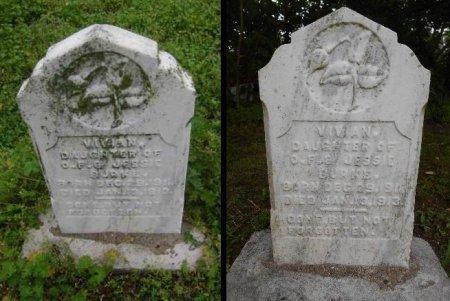 BURKE, VIVIAN - Lawrence County, Arkansas   VIVIAN BURKE - Arkansas Gravestone Photos