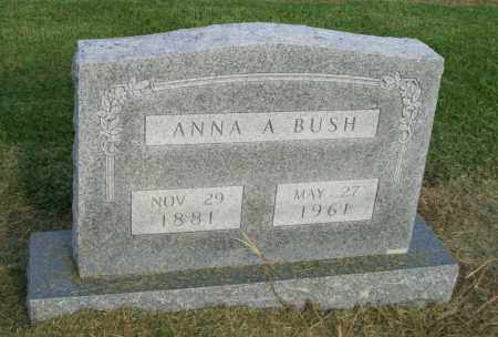 BUSH, ANNA ANDERSON MAYS - Lawrence County, Arkansas | ANNA ANDERSON MAYS BUSH - Arkansas Gravestone Photos