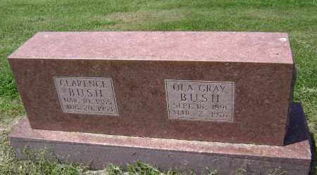 BUSH, CLARENCE - Lawrence County, Arkansas | CLARENCE BUSH - Arkansas Gravestone Photos