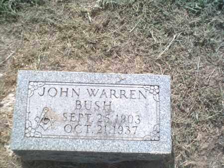 BUSH, JOHN WARREN - Lawrence County, Arkansas | JOHN WARREN BUSH - Arkansas Gravestone Photos