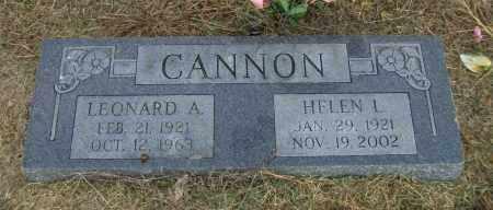 ALLISON, HELEN L. CANNON - Lawrence County, Arkansas | HELEN L. CANNON ALLISON - Arkansas Gravestone Photos