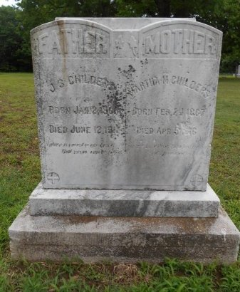 "HENNESSEE CHILDERS, MARTHA ""MATTIE"" - Lawrence County, Arkansas 