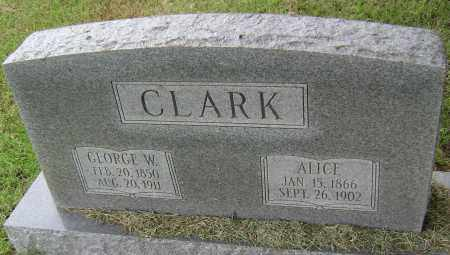 CLARK, GEORGE W - Lawrence County, Arkansas | GEORGE W CLARK - Arkansas Gravestone Photos