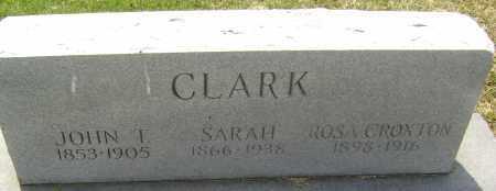 PARKS CLARK, SARAH - Lawrence County, Arkansas | SARAH PARKS CLARK - Arkansas Gravestone Photos