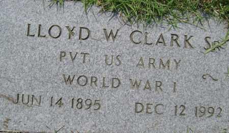 CLARK, SR.  (VETERAN WWI), LLOYD W. - Lawrence County, Arkansas | LLOYD W. CLARK, SR.  (VETERAN WWI) - Arkansas Gravestone Photos