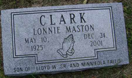 CLARK, LONNIE MASTON - Lawrence County, Arkansas | LONNIE MASTON CLARK - Arkansas Gravestone Photos