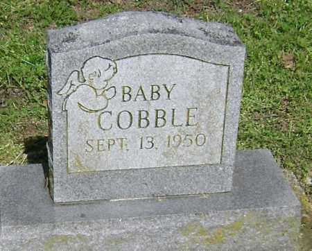 COBBLE, INFANT - Lawrence County, Arkansas | INFANT COBBLE - Arkansas Gravestone Photos