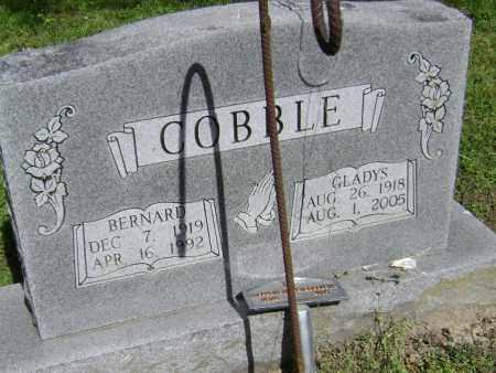 COBBLE, GLADYS - Lawrence County, Arkansas | GLADYS COBBLE - Arkansas Gravestone Photos