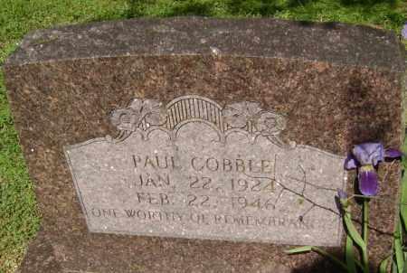 COBBLE, PAUL - Lawrence County, Arkansas | PAUL COBBLE - Arkansas Gravestone Photos