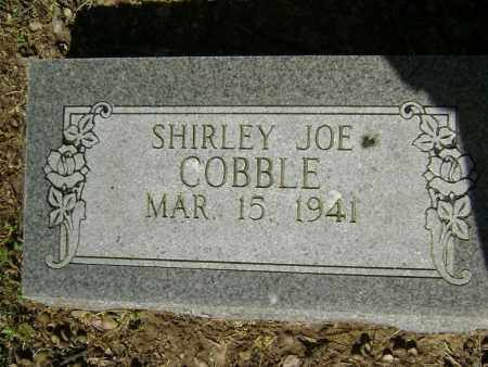 COBBLE, SHIRLEY JOE - Lawrence County, Arkansas | SHIRLEY JOE COBBLE - Arkansas Gravestone Photos