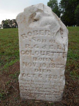 COLQUETTE, ROBERT - Lawrence County, Arkansas | ROBERT COLQUETTE - Arkansas Gravestone Photos
