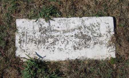 COVINGTON, F. - Lawrence County, Arkansas | F. COVINGTON - Arkansas Gravestone Photos