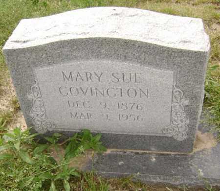 COVINGTON, MARY SUE - Lawrence County, Arkansas   MARY SUE COVINGTON - Arkansas Gravestone Photos