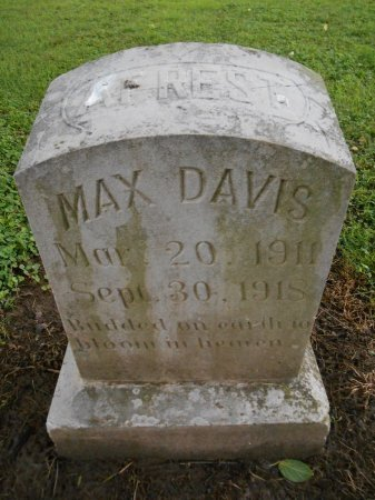 DAVIS, MAX - Lawrence County, Arkansas | MAX DAVIS - Arkansas Gravestone Photos