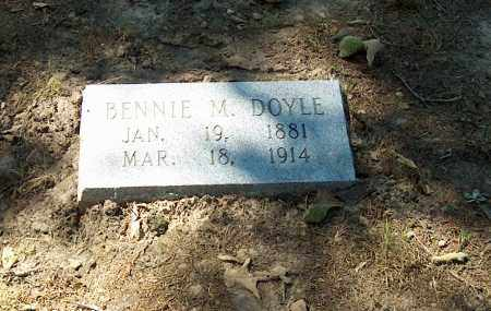 "DOYLE, BENJAMIN M. ""BENNIE"" - Lawrence County, Arkansas 