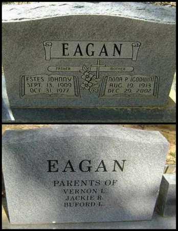 EAGAN, NONA PERMELIA - Lawrence County, Arkansas | NONA PERMELIA EAGAN - Arkansas Gravestone Photos