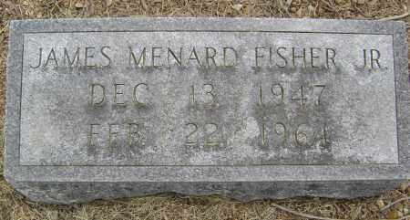 FISHER, JR., JAMES MENARD - Lawrence County, Arkansas | JAMES MENARD FISHER, JR. - Arkansas Gravestone Photos