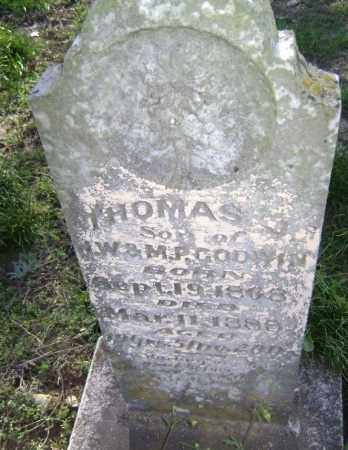 GODWIN, THOMAS J. - Lawrence County, Arkansas   THOMAS J. GODWIN - Arkansas Gravestone Photos
