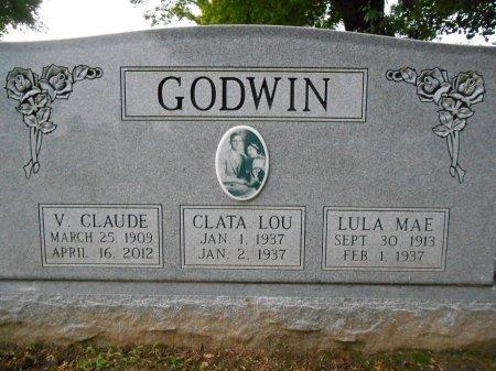 GODWIN, VERNON CLAUDE - Lawrence County, Arkansas | VERNON CLAUDE GODWIN - Arkansas Gravestone Photos