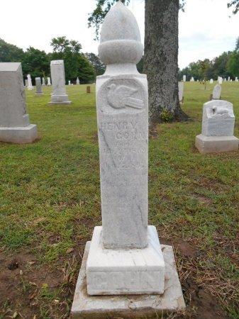 GOHN, HENRY - Lawrence County, Arkansas | HENRY GOHN - Arkansas Gravestone Photos