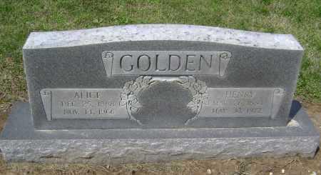 GOLDEN, HENRY - Lawrence County, Arkansas | HENRY GOLDEN - Arkansas Gravestone Photos