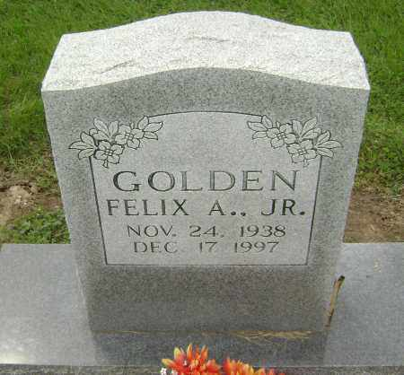 GOLDEN, JR., FELIX ANDREW - Lawrence County, Arkansas | FELIX ANDREW GOLDEN, JR. - Arkansas Gravestone Photos
