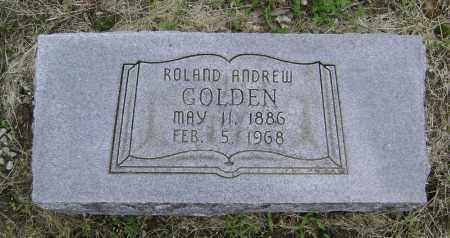 GOLDEN, ROLAND ANDREW - Lawrence County, Arkansas | ROLAND ANDREW GOLDEN - Arkansas Gravestone Photos