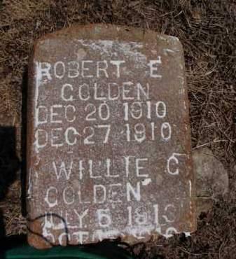 GOLDEN, ROBERT E - Lawrence County, Arkansas   ROBERT E GOLDEN - Arkansas Gravestone Photos