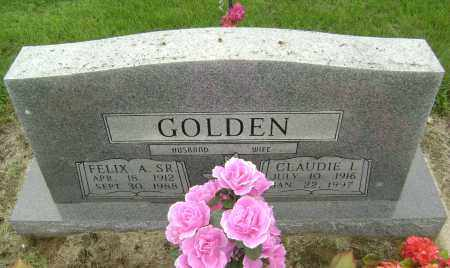 GOLDEN, CLAUDIE IONA - Lawrence County, Arkansas | CLAUDIE IONA GOLDEN - Arkansas Gravestone Photos