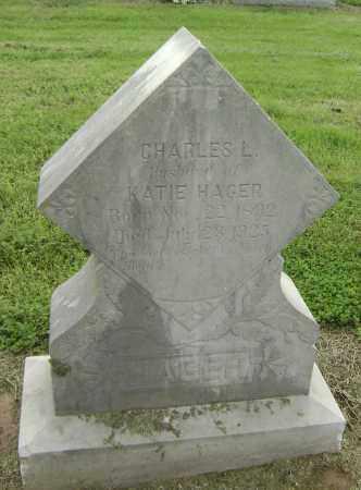 HAGER, CHARLES L. - Lawrence County, Arkansas | CHARLES L. HAGER - Arkansas Gravestone Photos