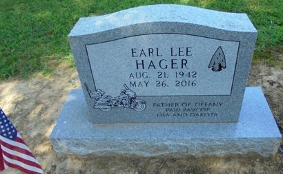 HAGER, EARL LEE - Lawrence County, Arkansas | EARL LEE HAGER - Arkansas Gravestone Photos