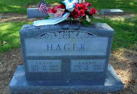 HAGER, FRANK - Lawrence County, Arkansas   FRANK HAGER - Arkansas Gravestone Photos