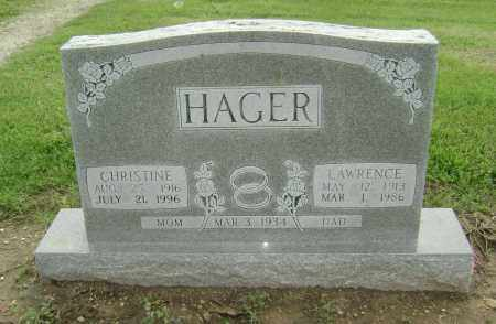 HAGER, LAWRENCE MARVIN - Lawrence County, Arkansas | LAWRENCE MARVIN HAGER - Arkansas Gravestone Photos