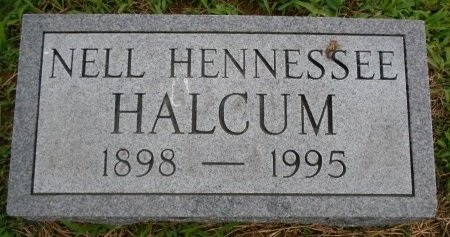 HENNESSEE HALCUM, NELL - Lawrence County, Arkansas | NELL HENNESSEE HALCUM - Arkansas Gravestone Photos