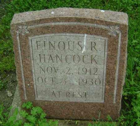 HANCOCK, FINOUS R. - Lawrence County, Arkansas   FINOUS R. HANCOCK - Arkansas Gravestone Photos