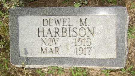 HARBISON, DEWEL M. - Lawrence County, Arkansas   DEWEL M. HARBISON - Arkansas Gravestone Photos