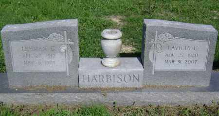 "HARBISON, LAVICIA  ""LOU"" C. - Lawrence County, Arkansas 