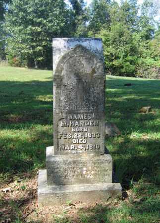 HARDEN (VETERAN CSA), JAMES M - Lawrence County, Arkansas | JAMES M HARDEN (VETERAN CSA) - Arkansas Gravestone Photos