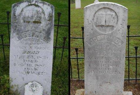 HARDIN, JOSEPH D - Lawrence County, Arkansas   JOSEPH D HARDIN - Arkansas Gravestone Photos