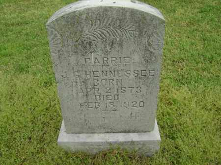 HENNESSEE, PARRIE - Lawrence County, Arkansas | PARRIE HENNESSEE - Arkansas Gravestone Photos
