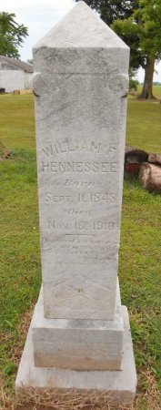 HENNESSEE, WILLIAM F - Lawrence County, Arkansas   WILLIAM F HENNESSEE - Arkansas Gravestone Photos