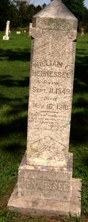 HENNESSEE, WILLIAM F. - Lawrence County, Arkansas | WILLIAM F. HENNESSEE - Arkansas Gravestone Photos