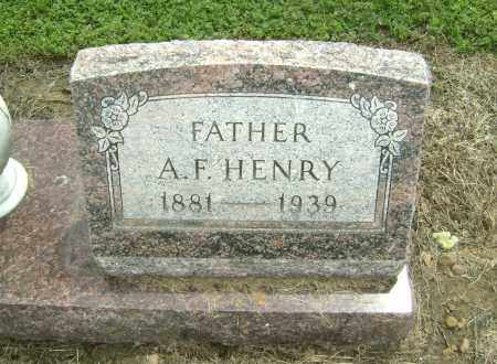 HENRY, A. FATE - Lawrence County, Arkansas | A. FATE HENRY - Arkansas Gravestone Photos