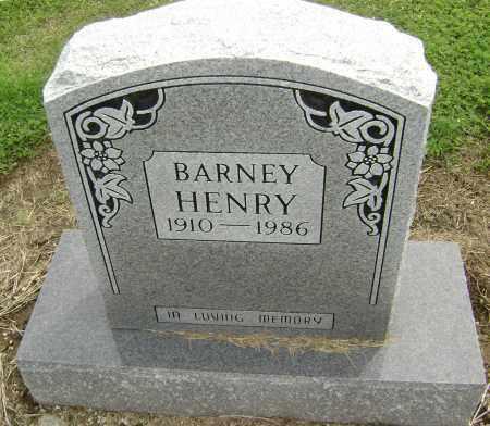 HENRY, BARNEY - Lawrence County, Arkansas | BARNEY HENRY - Arkansas Gravestone Photos