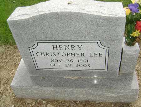HENRY, CHRISTOPHER LEE - Lawrence County, Arkansas | CHRISTOPHER LEE HENRY - Arkansas Gravestone Photos
