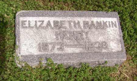 HENRY, ELIZABETH - Lawrence County, Arkansas   ELIZABETH HENRY - Arkansas Gravestone Photos