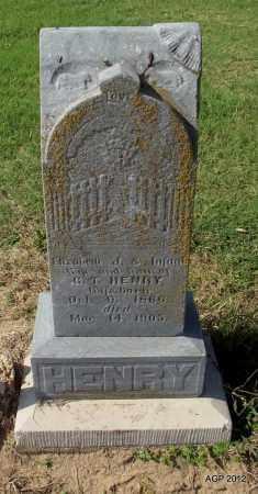 HENRY, INFANT DAUGHTER - Lawrence County, Arkansas | INFANT DAUGHTER HENRY - Arkansas Gravestone Photos