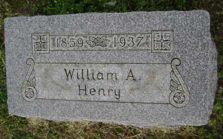 HENRY, WILLIAM A. - Lawrence County, Arkansas | WILLIAM A. HENRY - Arkansas Gravestone Photos