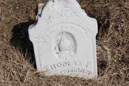 HILDERBRANDT, THOMAS F - Lawrence County, Arkansas | THOMAS F HILDERBRANDT - Arkansas Gravestone Photos