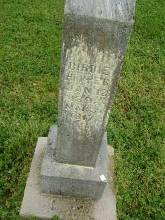 HOPPER, BIRDIE - Lawrence County, Arkansas | BIRDIE HOPPER - Arkansas Gravestone Photos